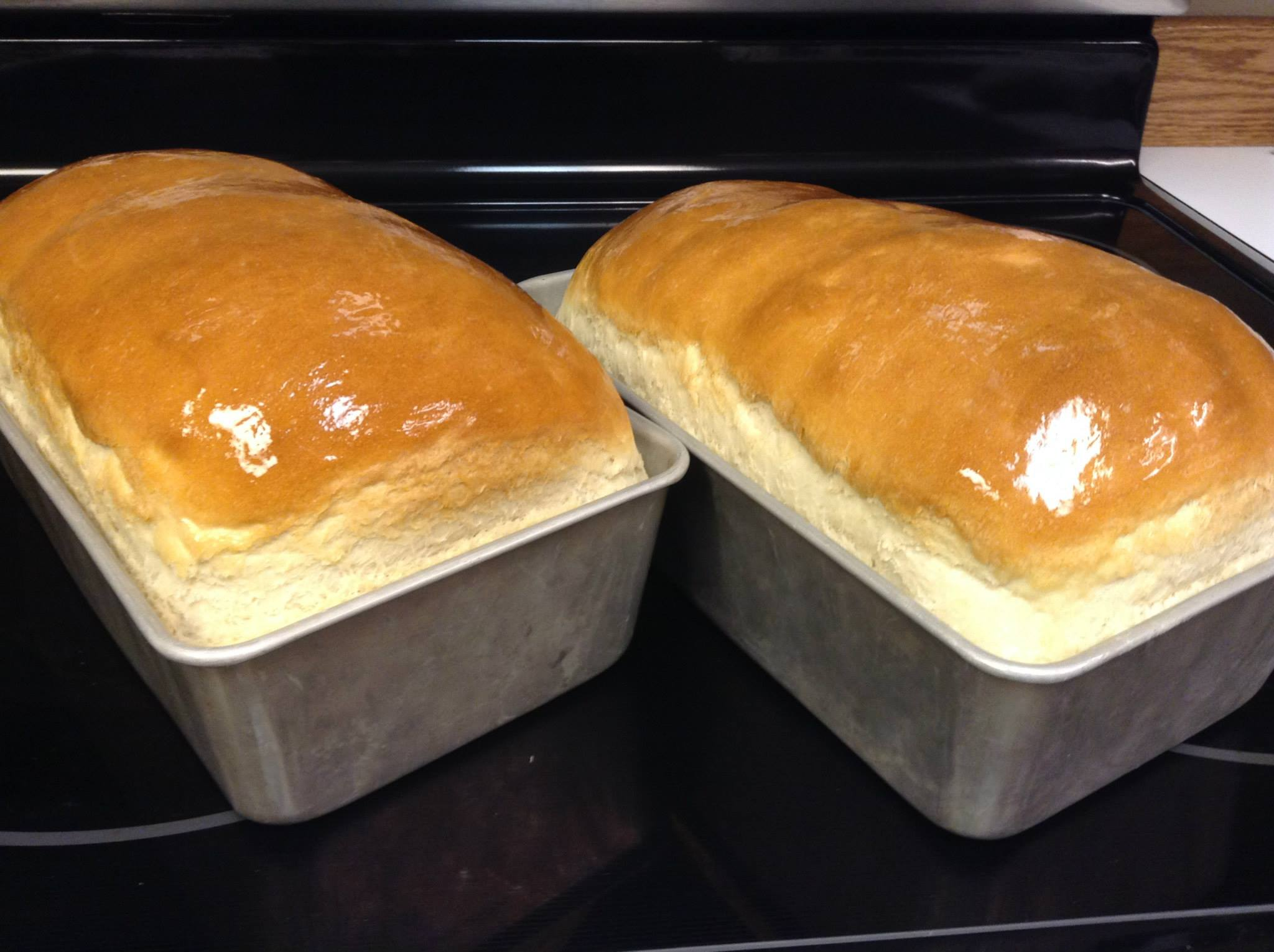 Homemade Amish White Bread – Scratch this with Sandy