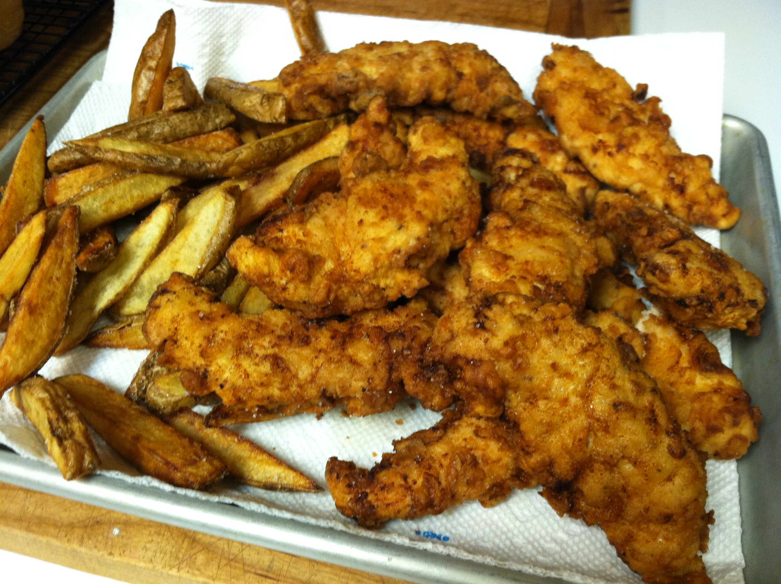 Homemade Chicken Tenders – Scratch this with Sandy