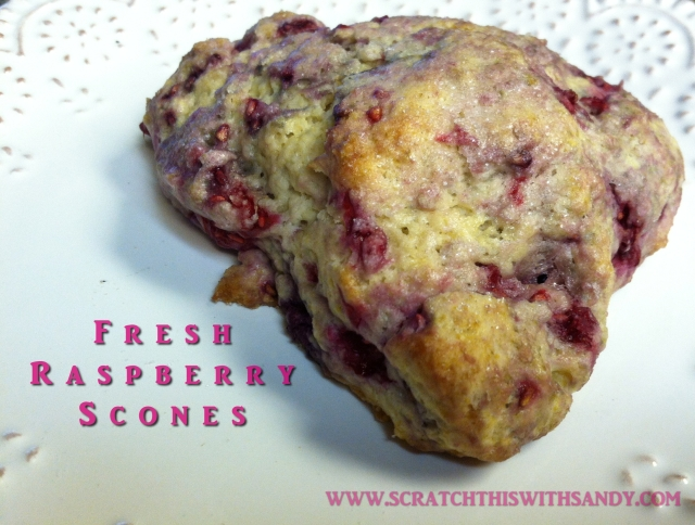 Fresh Raspberry Scones Pinterst