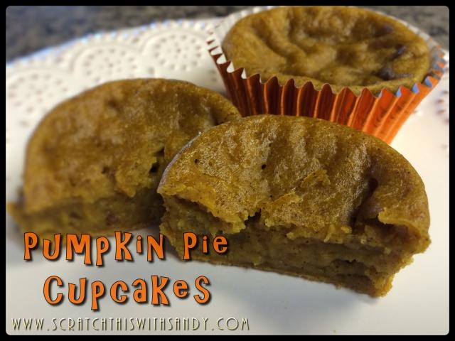Pumpkin Pie Cupcakes Cover